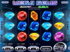 mega gems slot betsoft