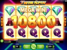 twin spin slot netent